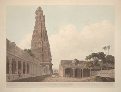 An Hindoo Temple, at Madura